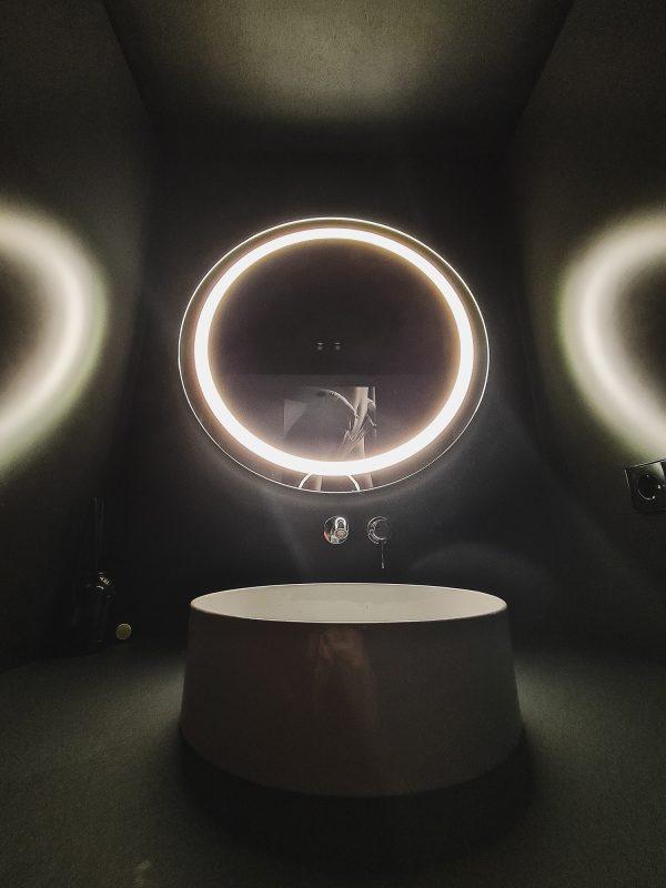 Veidrodis su LED apšvietimu